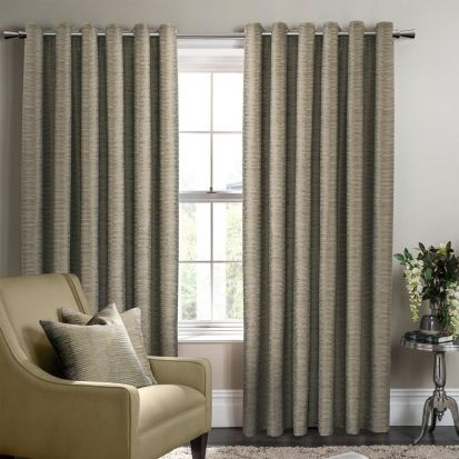 Studio G Campello Olive Readymade Curtains - 90