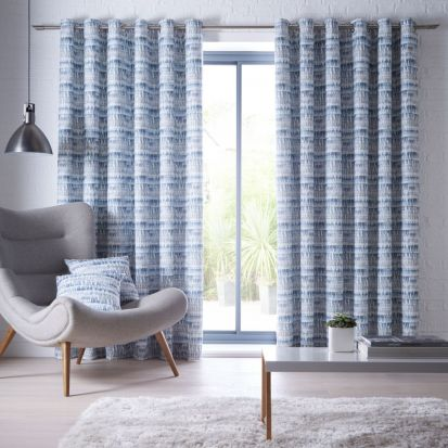 Studio G Tenby Indigo Readymade Curtains 66