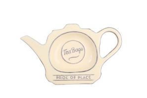T&G Pride of Place Teabag Tidy Old Cream