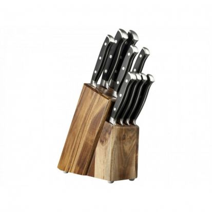 Taylors Eye Witness 9 Piece Knife Black Set