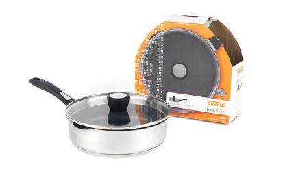 Thomas Lock & Pour Non-Stick Saute Pan & Lid