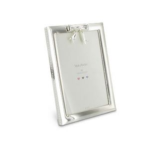 Vera Wang Baby Collection Silverplate Bow Frame