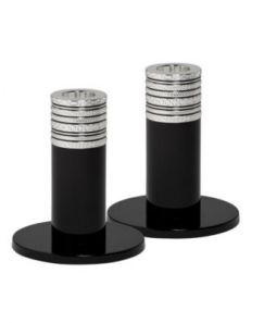 Vera Wang With Love Noir 10cm Candlestick Pair