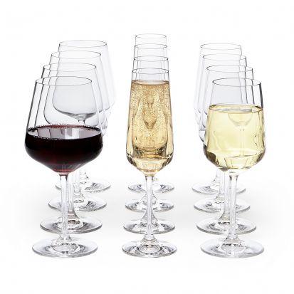 Villeroy & Bock Ovid 12 Piece Glassware Set