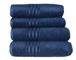 Vossen Vienna Supersoft Winternight Navy Bath Towel