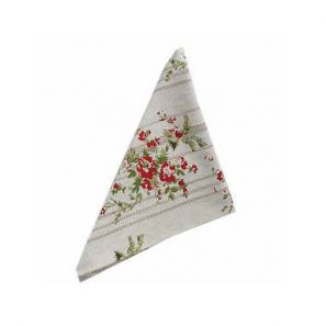 Walton & Co. Rose Cottage Set of Four Napkins