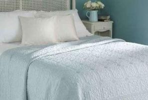 Walton Victoria Bedspread Duckegg Single