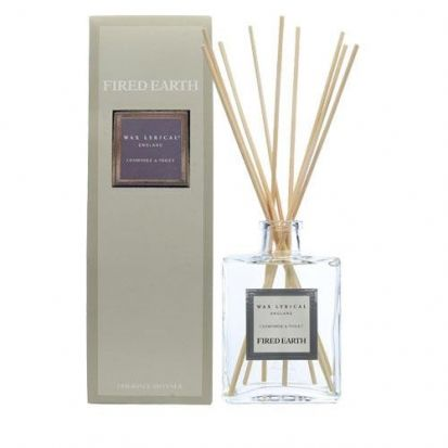 Wax Lyrical Fired Earth 200ml Reed Diffuser Chamomile & Violet