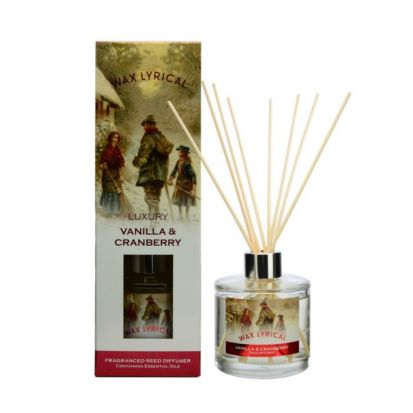 Wax Lyrical Luxury 180ml Reed Diffuser - Cranberry & Vanilla
