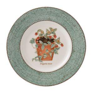 Wedgwood Sarah's Garden Green 20cm Plate
