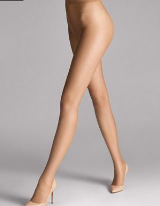 Wolford Nude 8 Tights Sand