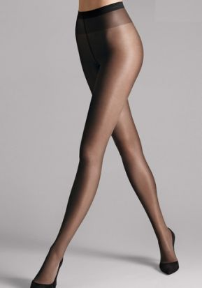 Wolford Satin Touch 20 Tights Nearly Black