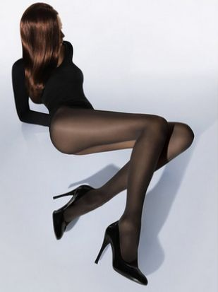 Wolford Velvet De Luxe 50 Tights Anthracite