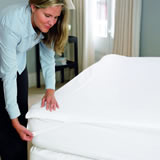 Gingerlily 100% Silk Filled Mattress Topper - Double 140 x 190CM