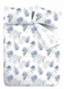 Bianca Botanical Cotton Duvet Cover Set - King 4