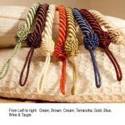 Cameo Rope Taupe Tieback