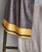 Catherine Lansfield Linear Diamond Grey Towel Bale 2