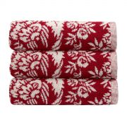 Christy Addison Wine Bath Towel