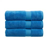 Christy Supreme Hygro Towelling Bath Mat - Cadet Blue