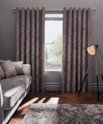 Clarke & Clarke Naples Heather Curtains - 66