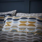 Content by Conran Eclipse Ochre Duvet Cover Set - Superking 2