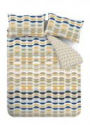Content by Conran Eclipse Ochre Duvet Cover Set - Superking 4