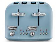 Delonghi Argento Flora 4-Slice Toaster - Blue