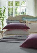 Dorma 300 Thread Count Cotton Sateen Flat Sheet Double White