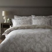 Dorma Acanthus Leaf Natural Duvet Cover Set - Double