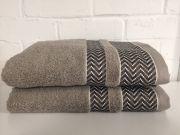 Elainer Duke Hand Towel - Taupe