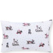 Fat Face Sledging Dogs Duvet Cover Set - Superking 2