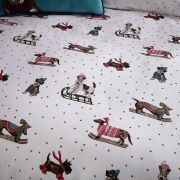 Fat Face Sledging Dogs Duvet Cover Set - Superking 3