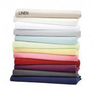Helena Springfield Plain Dye Linen Base Valance Sheet - Single