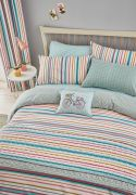 Helena Springfield Trixie Duck Egg Duvet Cover Set - Single