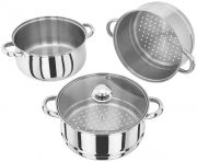 Judge 3 Tier Steamer Saucepan - 24 CM 1