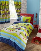Kids Club Diggers Duvet Cover Set Single