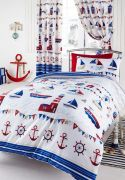 Kids Club Nautical Readymade Curtains 66