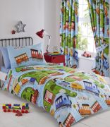 Kids' Club Trains Duvet Cover Set - Double