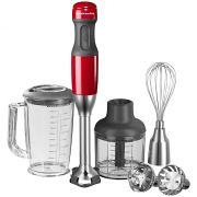 KitchenAid Corded Hand Blender Empire Red