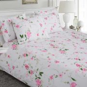 Moda de Casa Finesse Pink Sheet Set Double