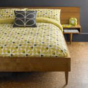 Orla Kiely Acorn Cup Duvet Cover Olive Single