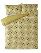 Orla Kiely Acorn Cup Duvet Cover Olive Single 1