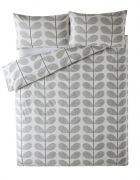 Orla Kiely Scribble Stem Duvet Cover Light Concrete Superking 1