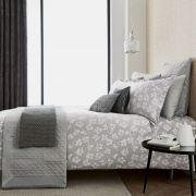 Peacock Blue Hotel Siena Silver Duvet Cover Set - Single