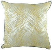 Piped Fawsley Hillier Ochre Cushion