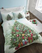 Portfolio Christmas Tree Duvet Cover Set King