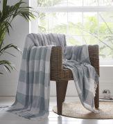 Portfolio Epsom Cotton Throw - Grey (228x250cm)