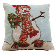 Portfolio Happy Snowman Cushion 43x43cm