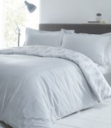 Portfolio Hestia Duvet Cover Set Silver - Superking 2