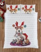 Portfolio Ivy & Snowy Duvet Cover Set - Single